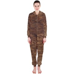 BEAR FUR Hooded Jumpsuit (Ladies)