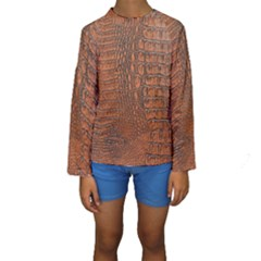 ALLIGATOR SKIN Kid s Long Sleeve Swimwear
