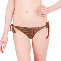 ALLIGATOR SKIN Bikini Bottoms