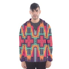 Tribal star Mesh Lined Wind Breaker (Men)