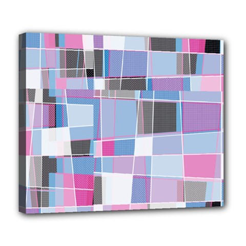 Patches Deluxe Canvas 24  x 20  (Stretched)