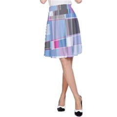 Patches A-line Skirt