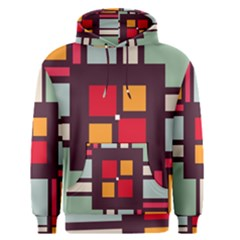 Squares and stripes  Men s Pullover Hoodie