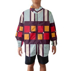 Squares and stripes  Wind Breaker (Kids)