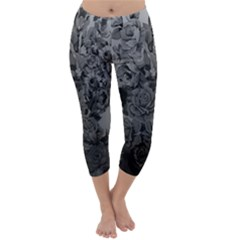 Platinum Roses Capri Winter Leggings
