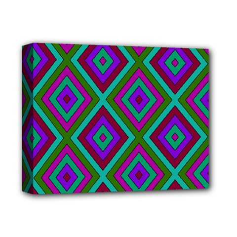 Diamond Pattern  Deluxe Canvas 14  x 11