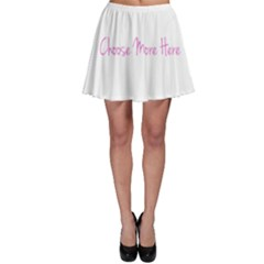 Choose More Here Skater Skirt