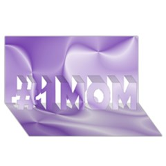 Colors In Motion, Lilac #1 Mom 3d Greeting Cards (8x4)