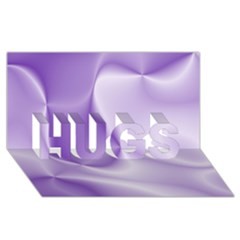 Colors In Motion, Lilac Hugs 3d Greeting Card (8x4)