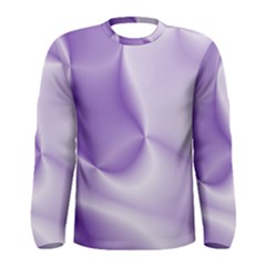 Colors In Motion, Lilac Men s Long Sleeve T-shirts