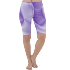 Colors In Motion, Lilac Cropped Leggings