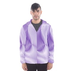 Colors In Motion, Lilac Hooded Wind Breaker (Men)