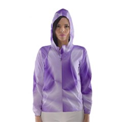 Colors In Motion, Lilac Hooded Wind Breaker (Women)