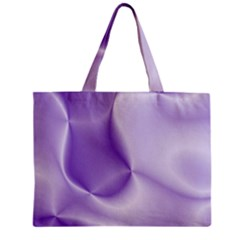 Colors In Motion, Lilac Zipper Tiny Tote Bags