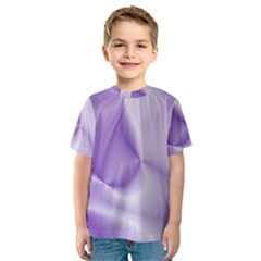 Colors In Motion, Lilac Kid s Sport Mesh Tees