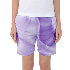 Colors In Motion, Lilac Women s Basketball Shorts