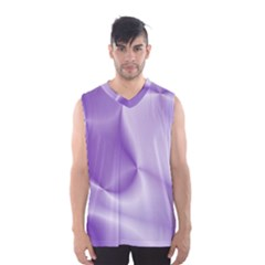 Colors In Motion, Lilac Men s Basketball Tank Top