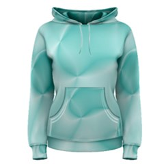 Colors In Motion,teal Women s Pullover Hoodies