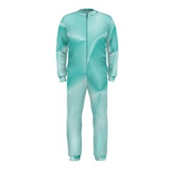 Colors In Motion,teal Onepiece Jumpsuit (kids)
