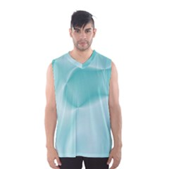 Colors In Motion,teal Men s Basketball Tank Top