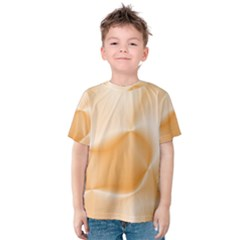 Colors In Motion,peach Kid s Cotton Tee