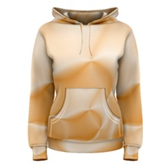 Colors In Motion,peach Women s Pullover Hoodies