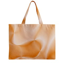 Colors In Motion,peach Zipper Tiny Tote Bags