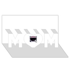 Collage Mousepad Mom 3d Greeting Card (8x4)