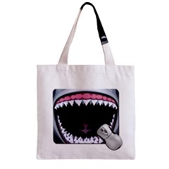 Collage Mousepad Zipper Grocery Tote Bags