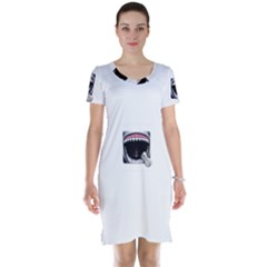 Collage Mousepad Short Sleeve Nightdresses