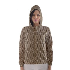 Cute Pretty Elegant Pattern Hooded Wind Breaker (Women)