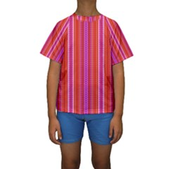 Pattern 1576 Kid s Short Sleeve Swimwear