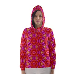 Cute Pretty Elegant Pattern Hooded Wind Breaker (Women)