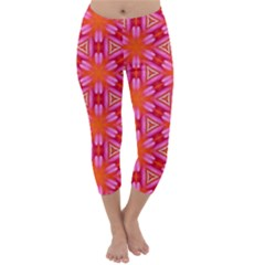Cute Pretty Elegant Pattern Capri Winter Leggings