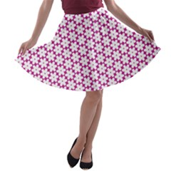 Cute Pretty Elegant Pattern A-line Skater Skirt