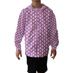 Cute Pretty Elegant Pattern Hooded Wind Breaker (Kids)
