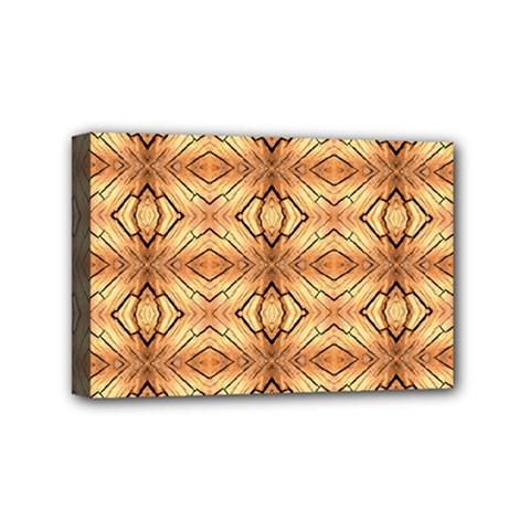 Faux Animal Print Pattern Mini Canvas 6  x 4