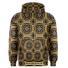 Faux Animal Print Pattern Men s Zipper Hoodies