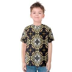 Faux Animal Print Pattern Kid s Cotton Tee