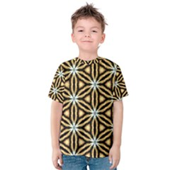 Faux Animal Print Pattern Kid s Cotton Tee