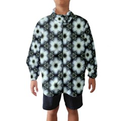 Faux Animal Print Pattern Wind Breaker (kids)