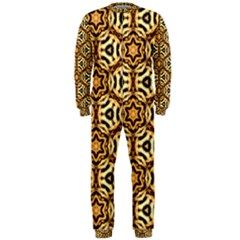 Faux Animal Print Pattern Onepiece Jumpsuit (men)