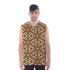 Faux Animal Print Pattern Men s Basketball Tank Top