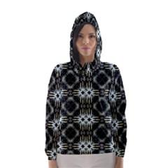 Faux Animal Print Pattern Hooded Wind Breaker (Women)