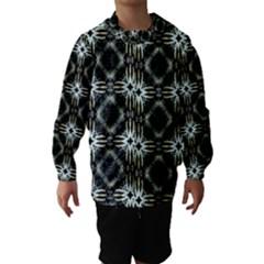 Faux Animal Print Pattern Hooded Wind Breaker (kids)