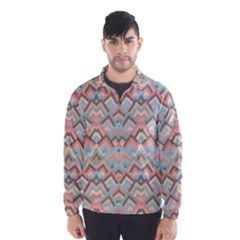 Trendy Chic Modern Chevron Pattern Wind Breaker (Men)
