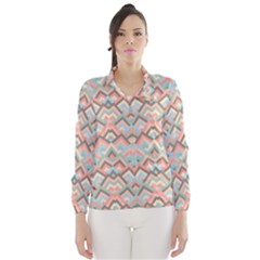 Trendy Chic Modern Chevron Pattern Wind Breaker (Women)