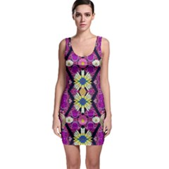 rose mandala  Bodycon Dresses