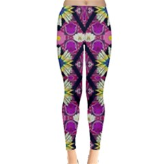 rose mandala  Women s Leggings