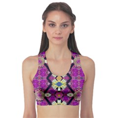 Rose Mandala  Sports Bra